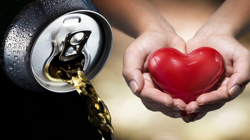 اثر منفی نوشابه های انرژی زا بر قلب